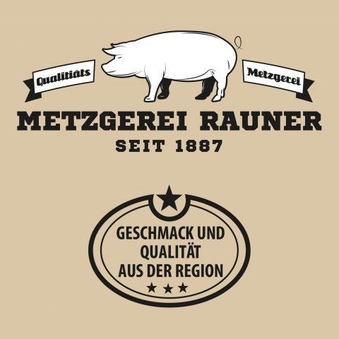 Die Metzgerei in Ulm, um Ulm und Ulm herum - Metzgerei Rauner Schild
