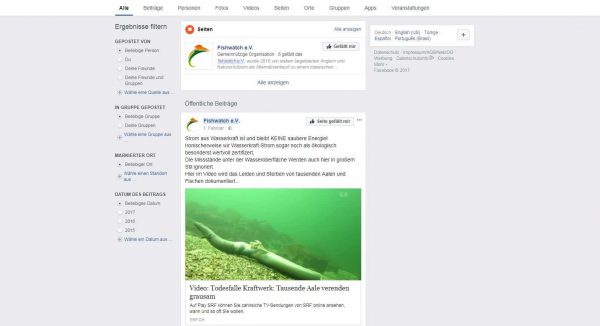 Facebook Angeln in Ulm fishwatch