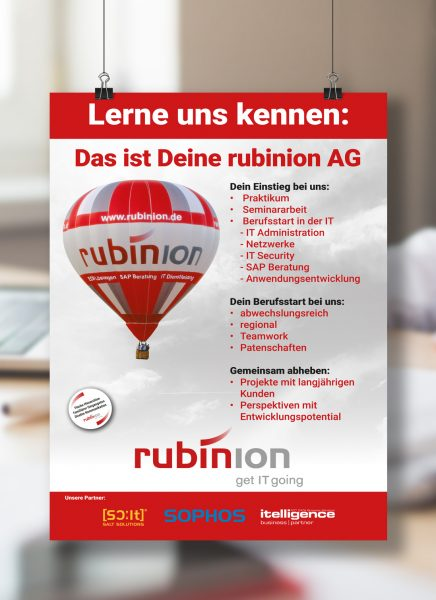 plakat 1 rubinion it kongress